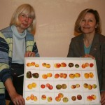 Obstwiesen-Expertin Lydia Bünger & Sabine Melzer