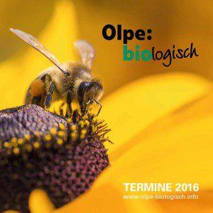 Olpe Biologisch - Veranstaltungsprogramm 2016
