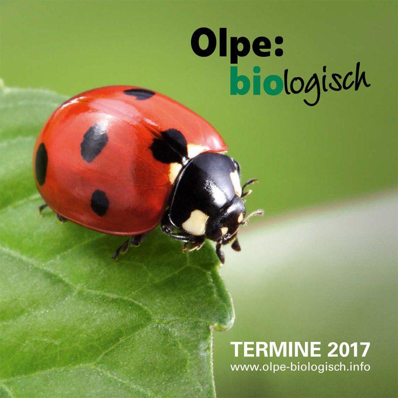 Olpe Biologisch - Veranstaltungsprogramm 2017