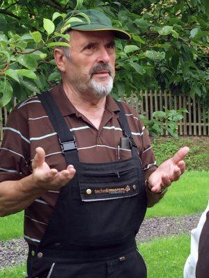 Friedhelm Geldsetzer, Fachwart für Obstbau