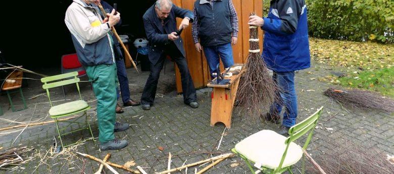 Reisigbesen binden – Alte Handwerkstechnik neu erlernen