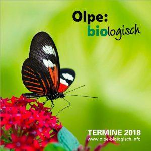 Olpe-biologisch - Veranstaltungsprogramm 2018