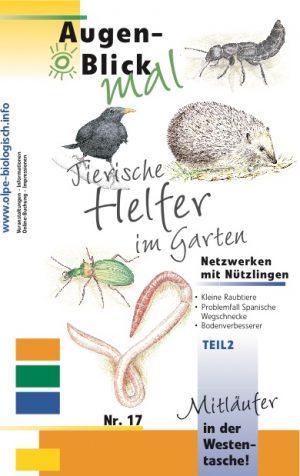 Mitläufer-17 - Tierische Helfer im Garten